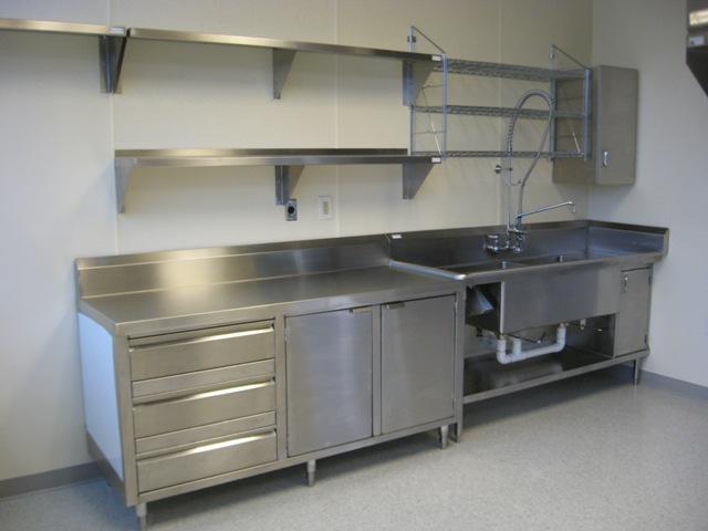 Commercial Stainless Steel Kitchen Sinks Allied stainless steel fabricationallied stainless allied ga power test kitchen 004 workwithnaturefo