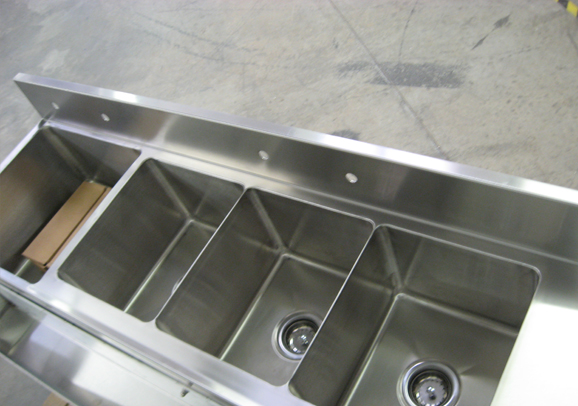 Allied Stainless Offers A Complete Line Of Custom Stainless Steel Food  Service Fabrication Products Such As Work Tables, Serving Counters, Sinks,  Floor