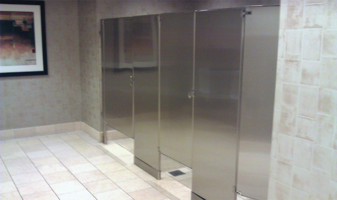 Bathroom Partitions Materials stainless restroom partitions | allied stainlessallied stainless