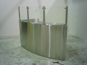 Custom Stainless Counters
