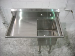 Hand and Mop Sink
