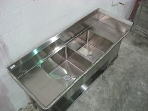 Custom Stainless Sinks